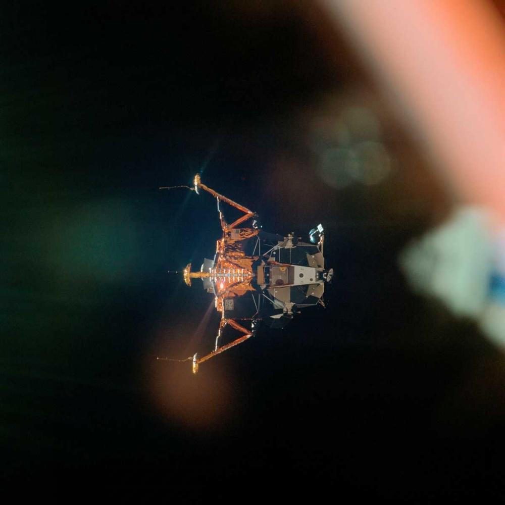 Eagle the Apollo 11 Lunar Module, 1969 NASA 93044