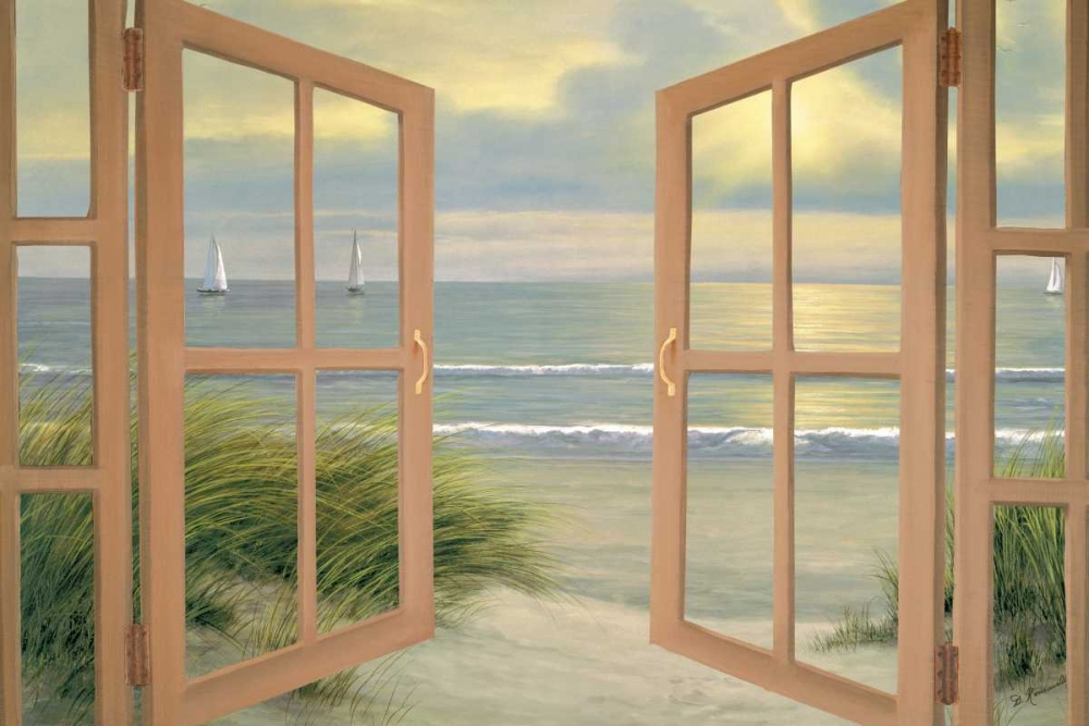 Gentle Breeze through Door Romanello, Diane 95205