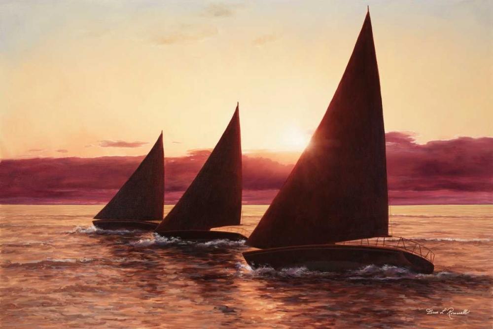 Evening Sail Romanello, Diane 95286