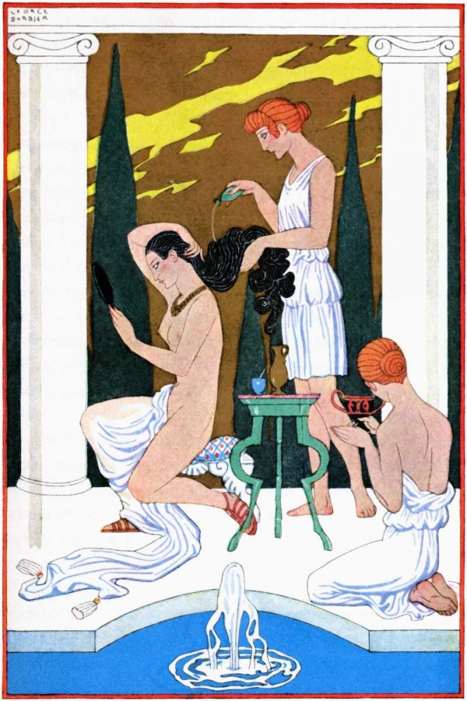 Ancient Rome Barbier, Georges 96218