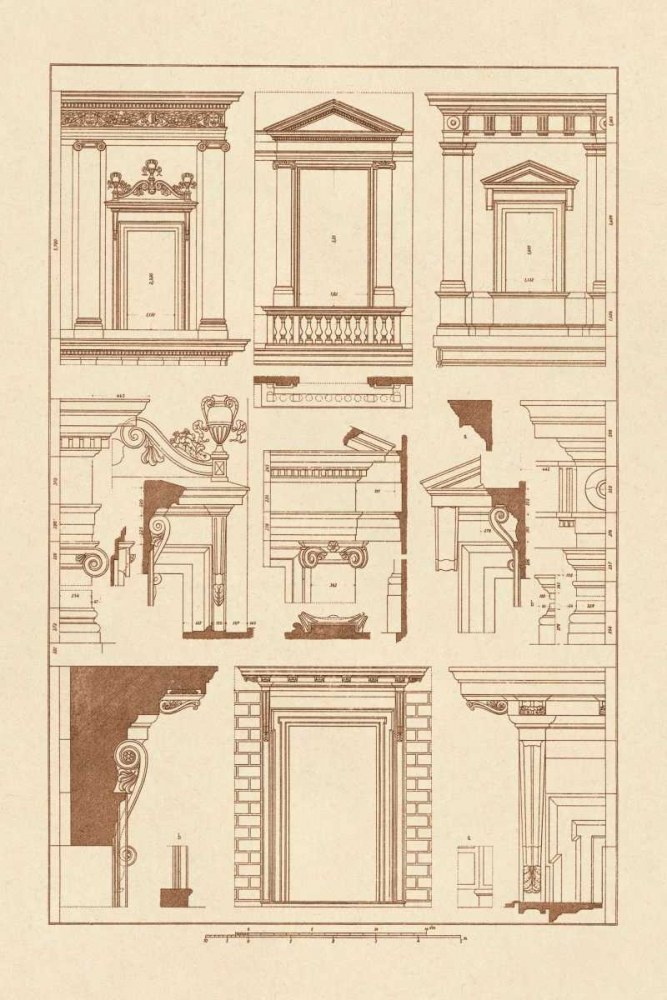 Windows of Palazzo Non Finito, Palace and House at Rome Buhlmann, J. 96271