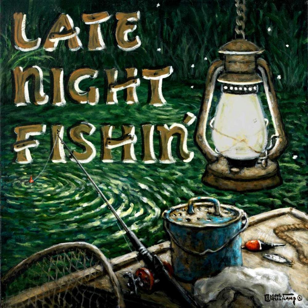 Late Night Fishing Kruskamp, Janet 94134