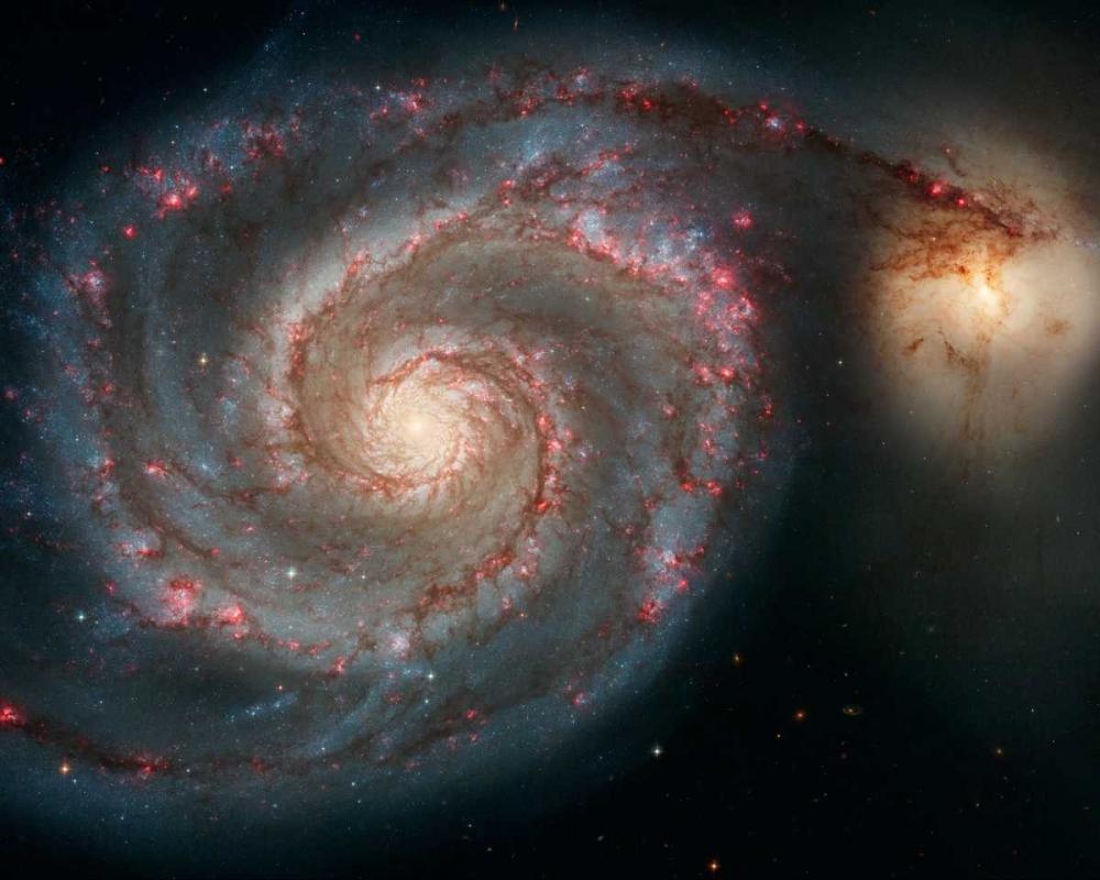 M51 - The Whirlpool Galaxy NASA 93097