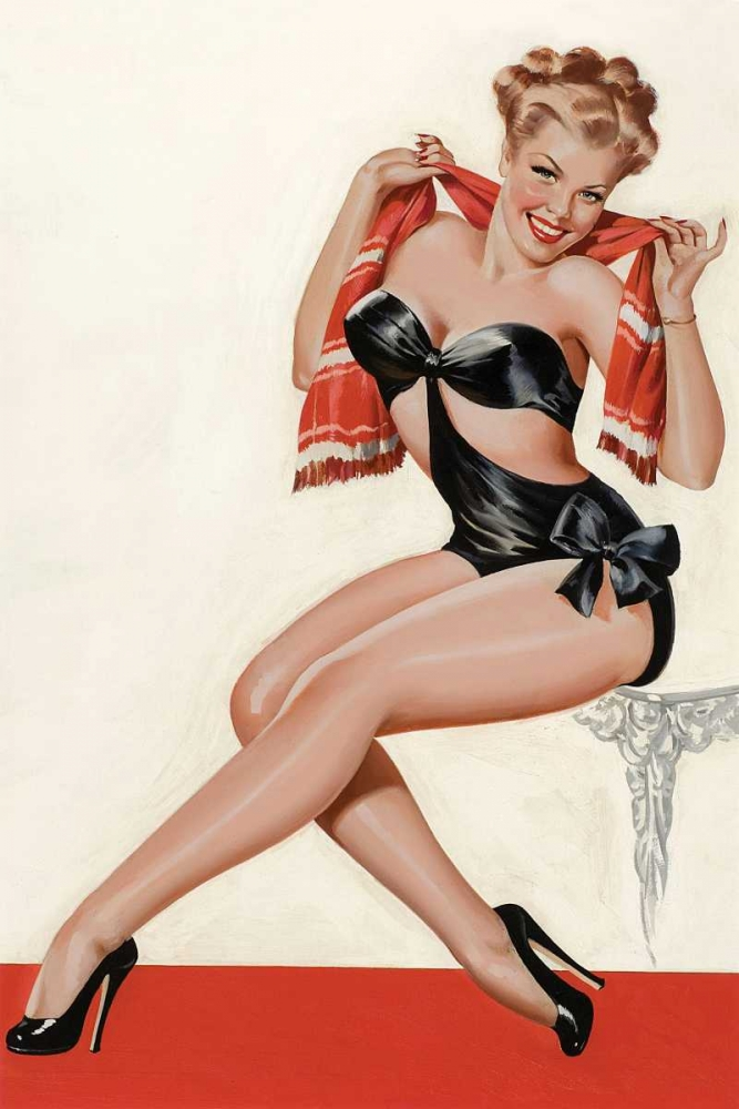 Mid-Century Pin-Ups - Wink Magazine - Silk Stockings and High Heels Driben, Peter 96387