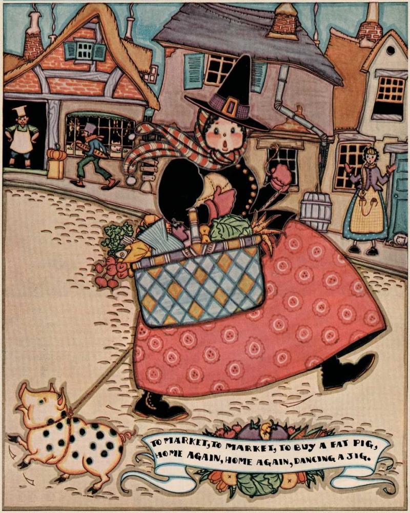 Pigs and Pork: Home Arts: To Market Jones, Mary Wright 96346