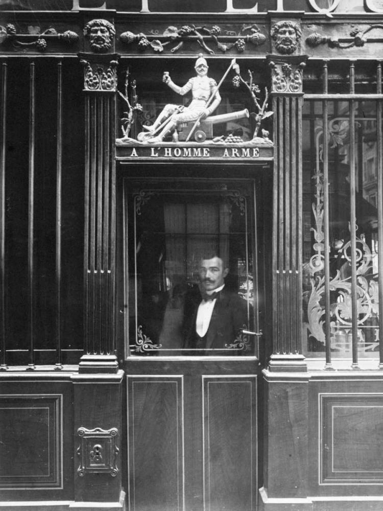 Paris, 1900 - Restaurant, rue des Blancs Manteaux Atget, Eugene 93140