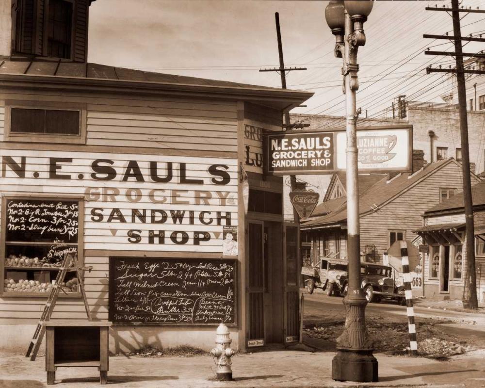 Street Scene, New Orleans, Louisiana, 1935 Evans, Walker 93145