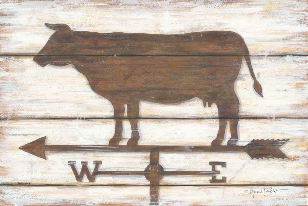 Farmhouse Cow LaPoint, Annie 124645