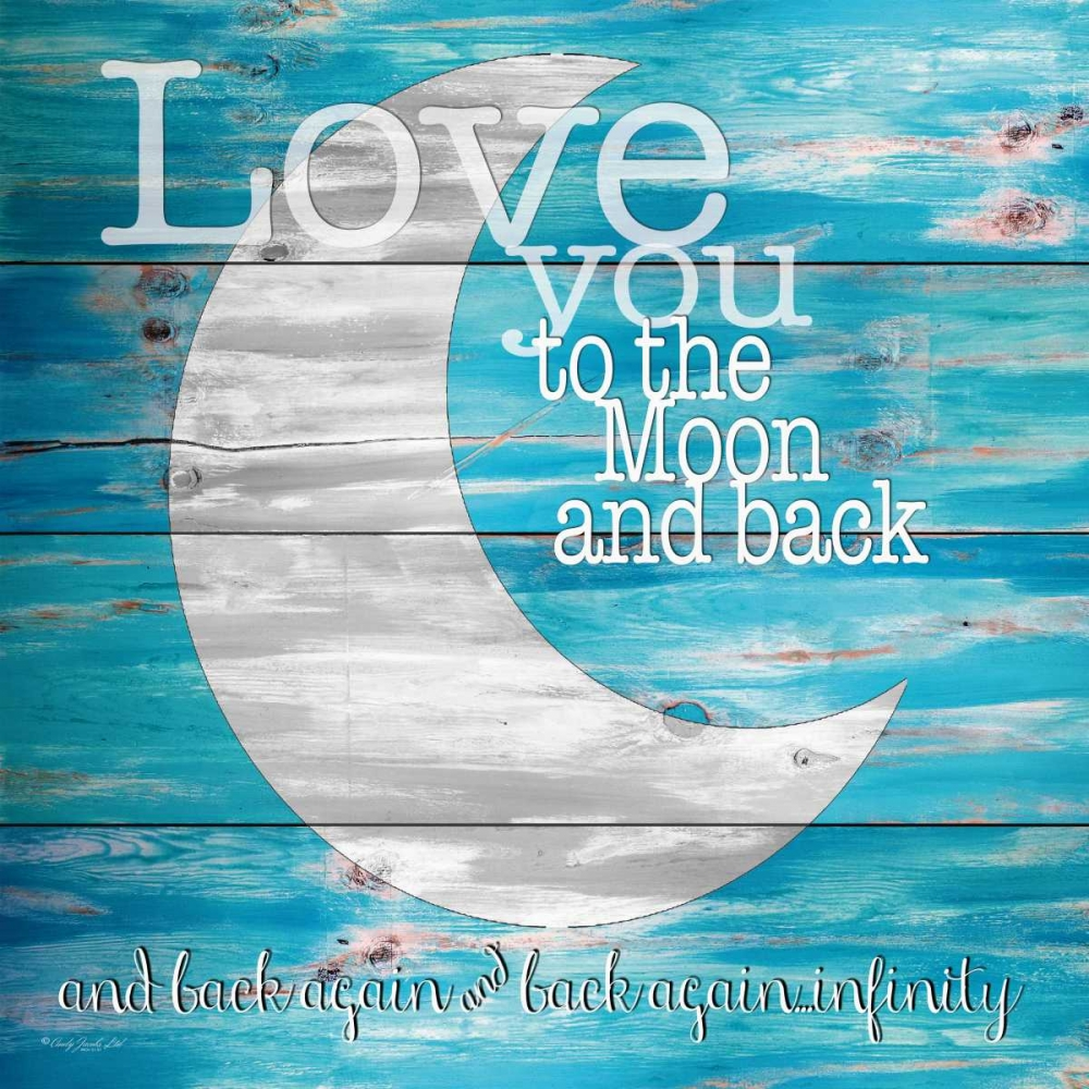 Love You to the Moon and Back Jacobs, Cindy 142877