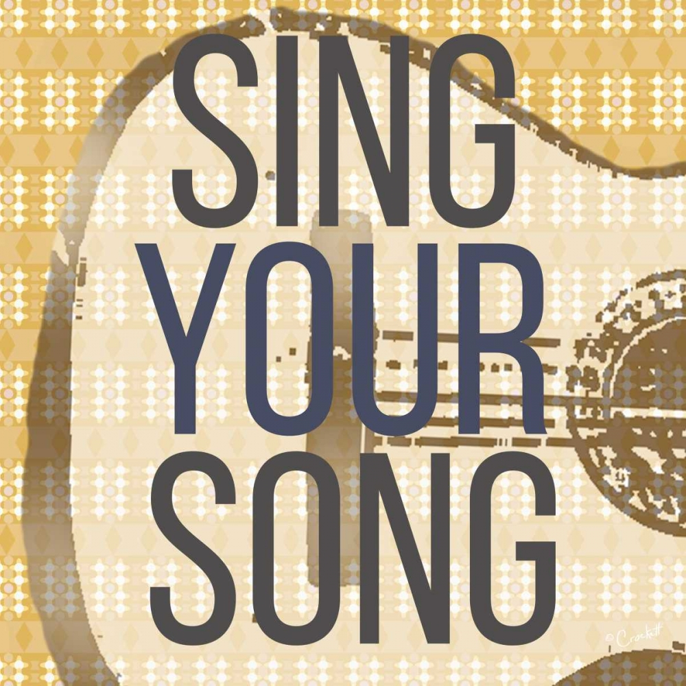 Sing Your Song Crockett 97190