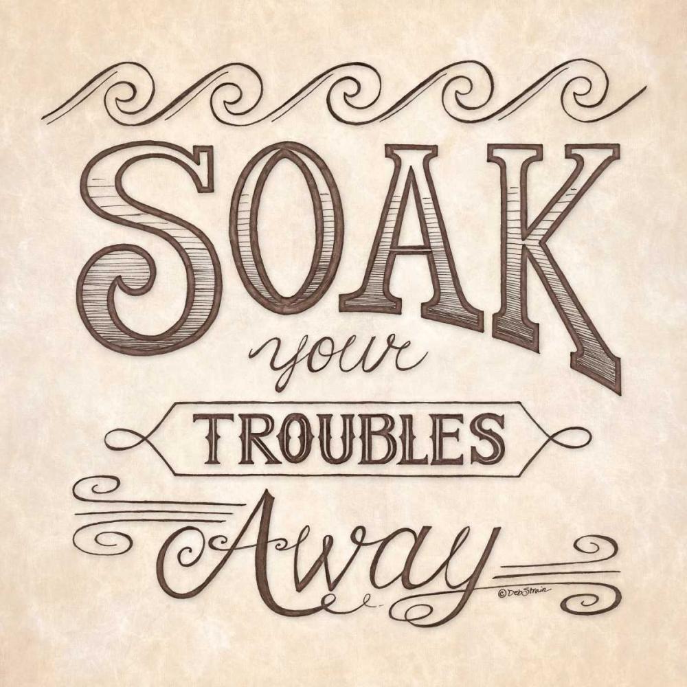 Soak Your Troubles Away Strain, Deb 163739