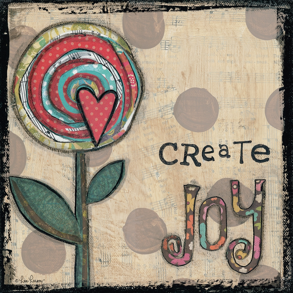 Create Joy Flower Larson, Lisa 99709
