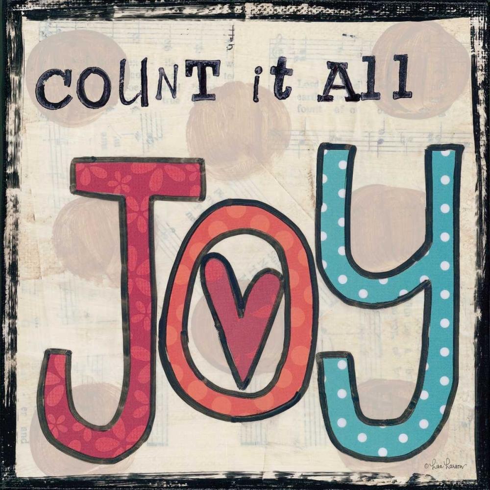 Count It All Joy Larson, Lisa 124650