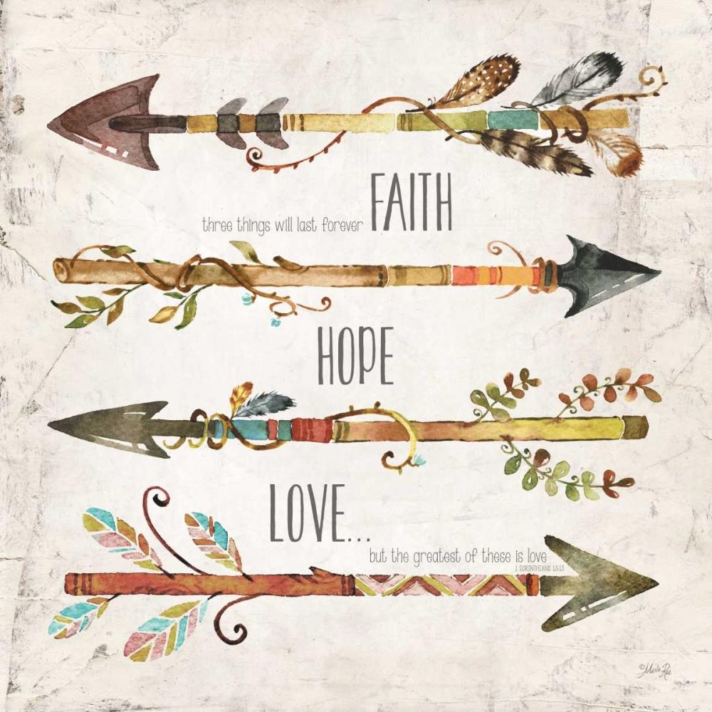 Faith, Hope, Love Rae, Marla 97290