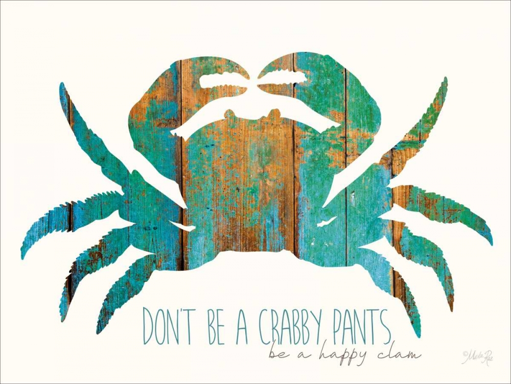 Dont be a Crabby Pants Rae, Marla 124707