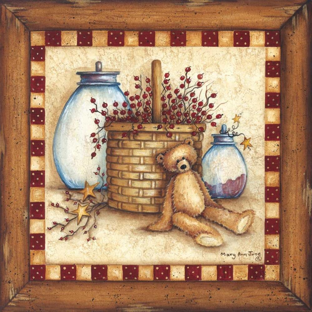 Berries, Stars and Jars June, Mary Ann 162656