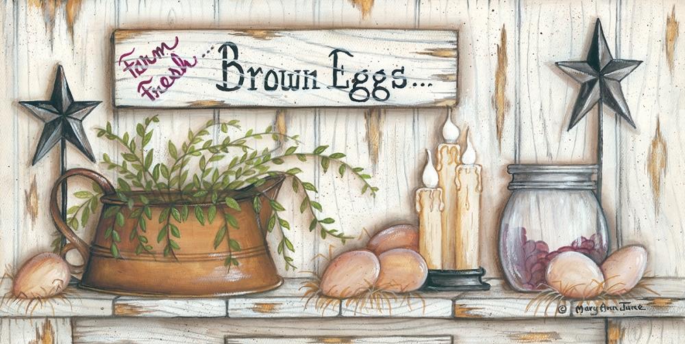 Brown Eggs June, Mary Ann 99698