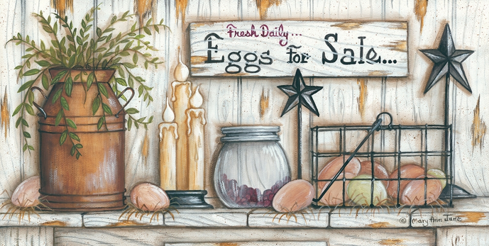 Eggs for Sale June, Mary Ann 99699