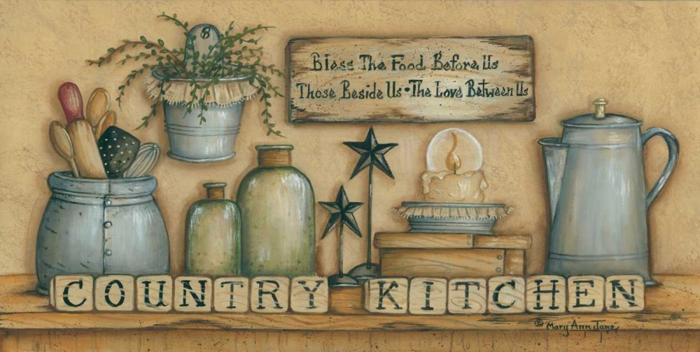 County Kitchen June, Mary Ann 124634