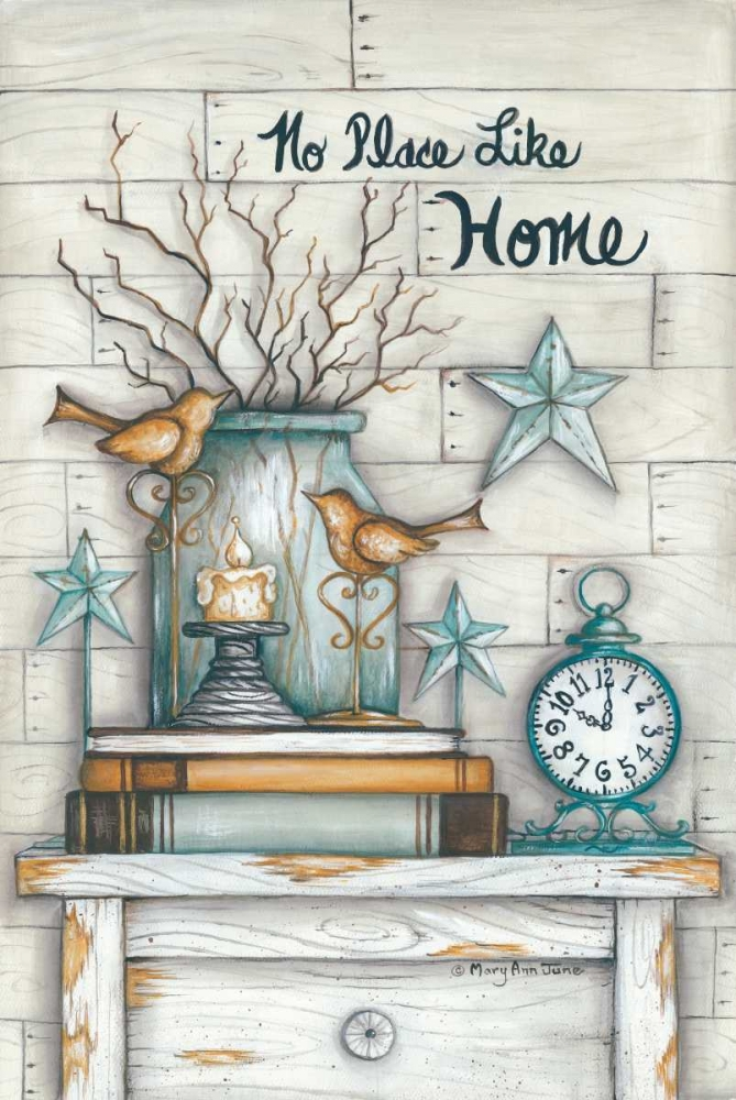 No Place Like Home June, Mary Ann 124636