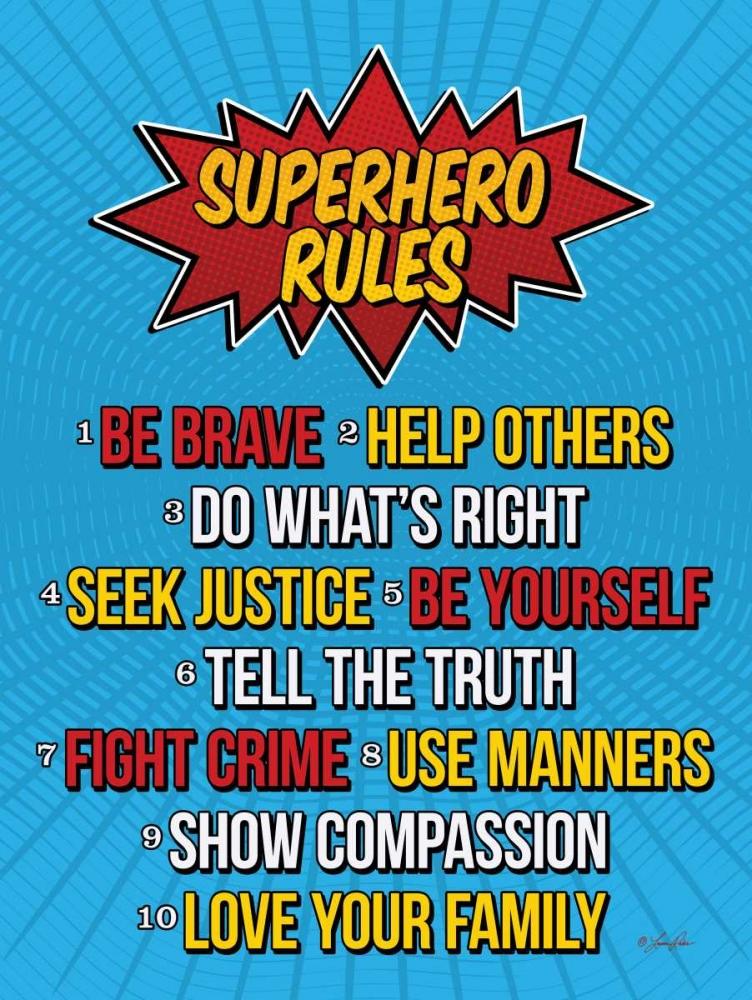 Superhero Rules Rader, Lauren 149661