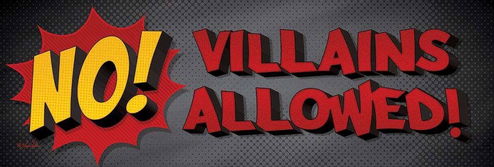 No Villains Allowed! Rader, Lauren 99743