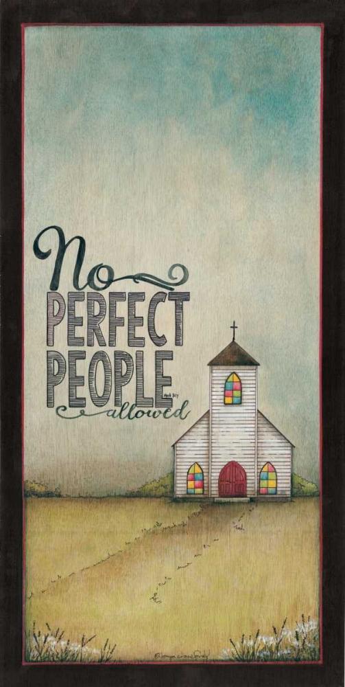 No Perfect People Allowed Crawford, Tonya 124574