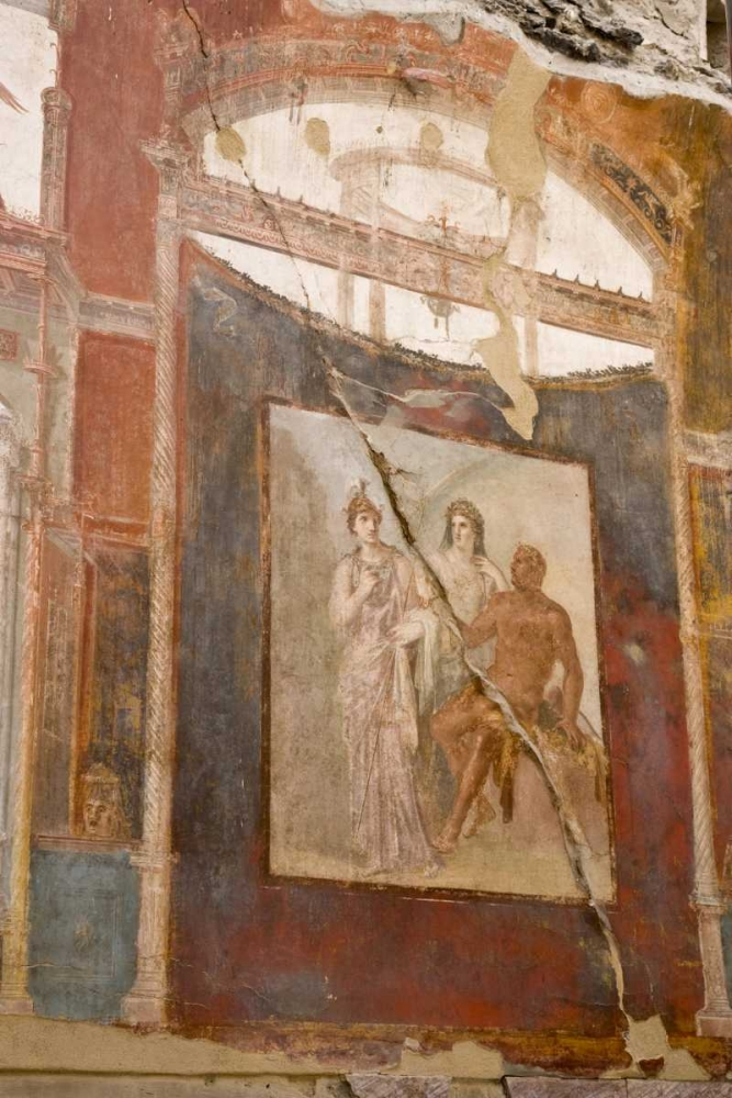 Italy, Campania Fresco in the Hall of Augustals Kaveney, Wendy 130480
