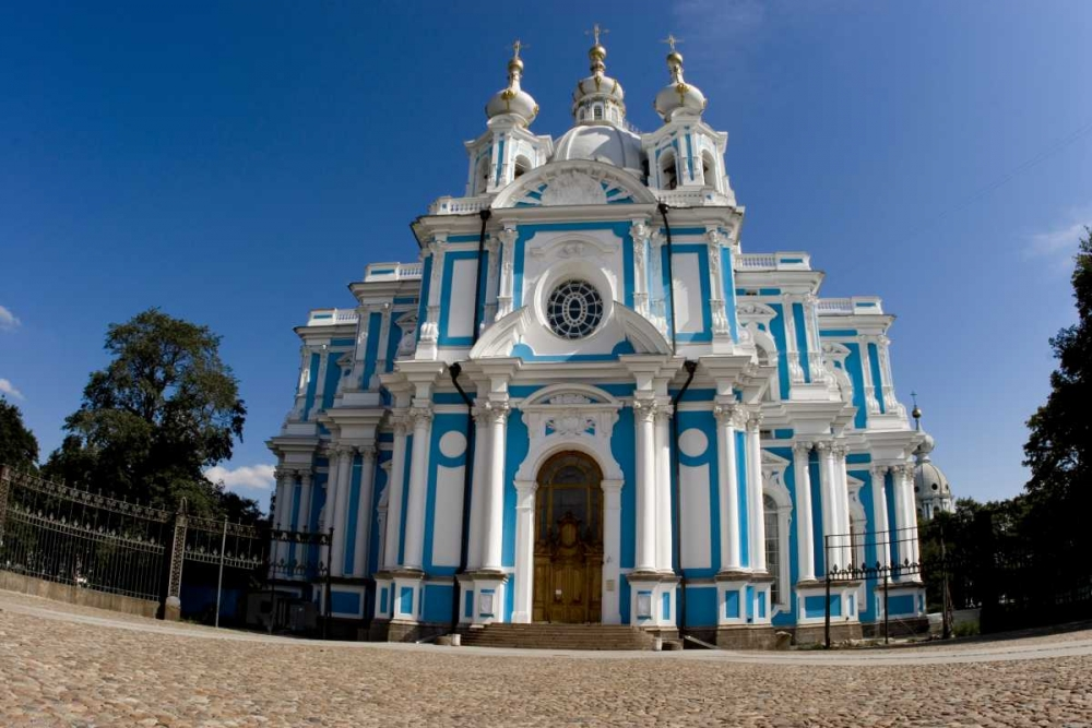 Russia, St Petersburg Smolny Cathedral Ross, Nancy - Steve 133499