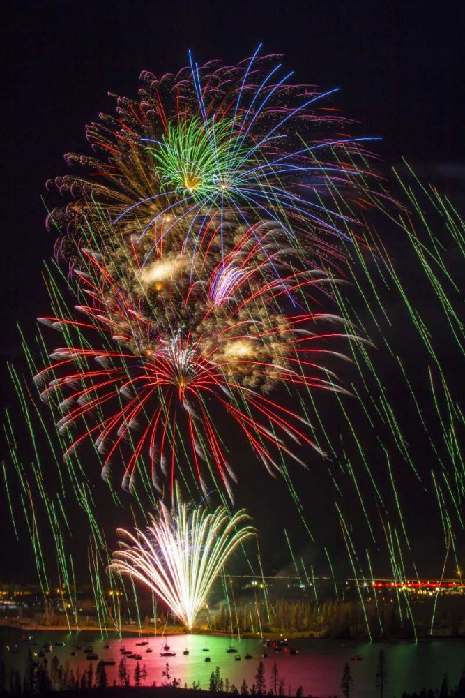Colorado, Frisco Fireworks display on July 4th Lord, Fred 130945