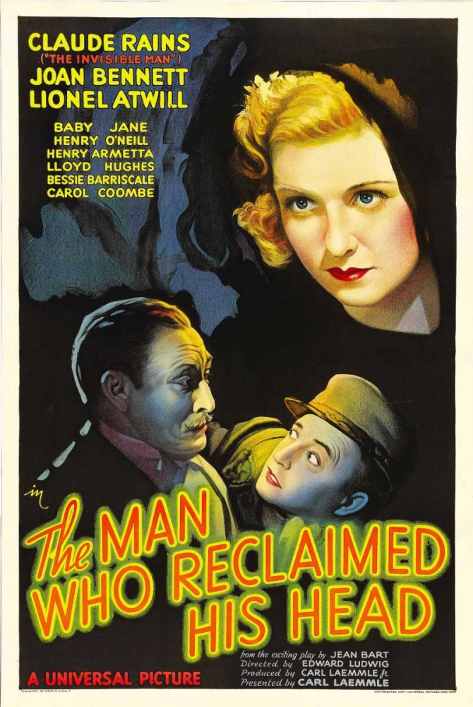 THE MAN WHO RECLAIMED HIS HEAD Everett Collection 116288