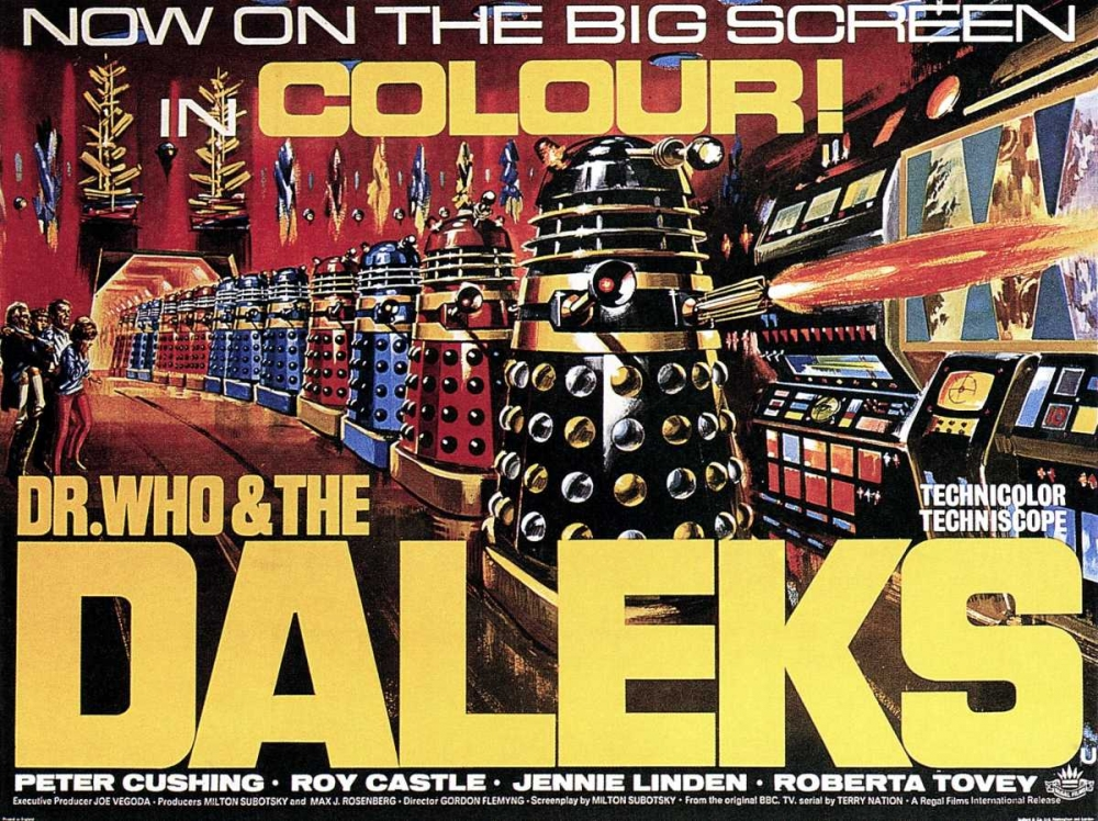 DR. WHO AND THE DALEKS Everett Collection 117295