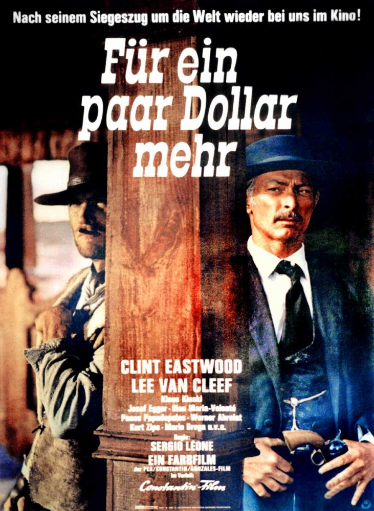 FOR A FEW DOLLARS MORE Everett Collection 117282