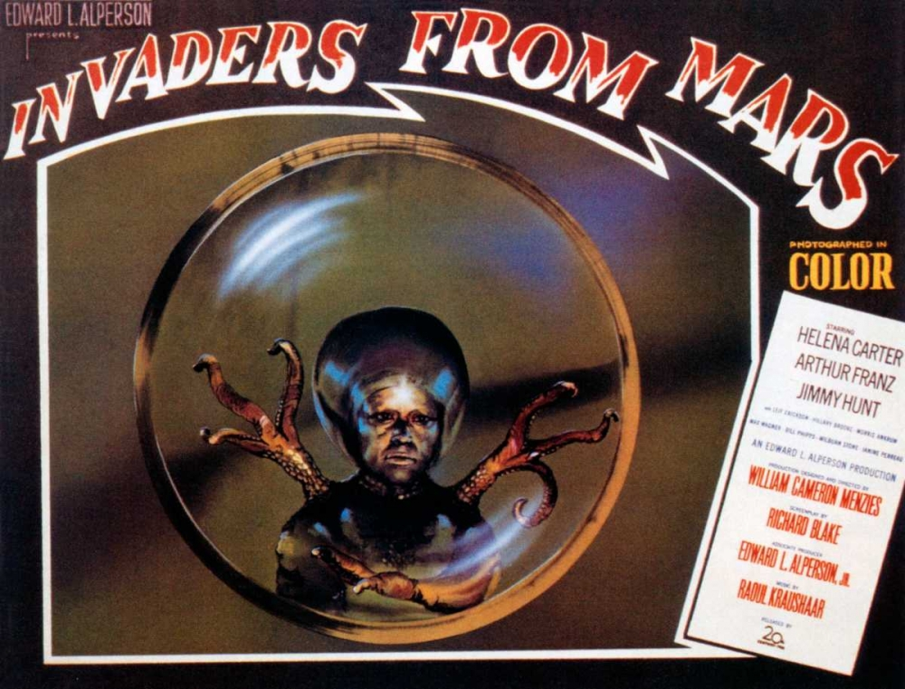INVADERS FROM MARS Everett Collection 117071