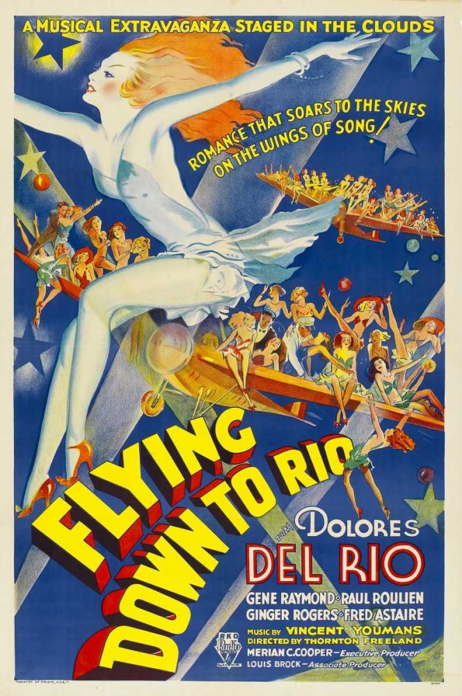 FLYING DOWN TO RIO Everett Collection 116236