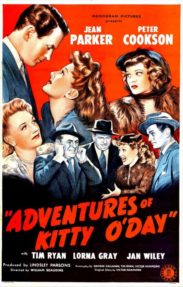 ADVENTURES OF KITTY ODAY Everett Collection 116741