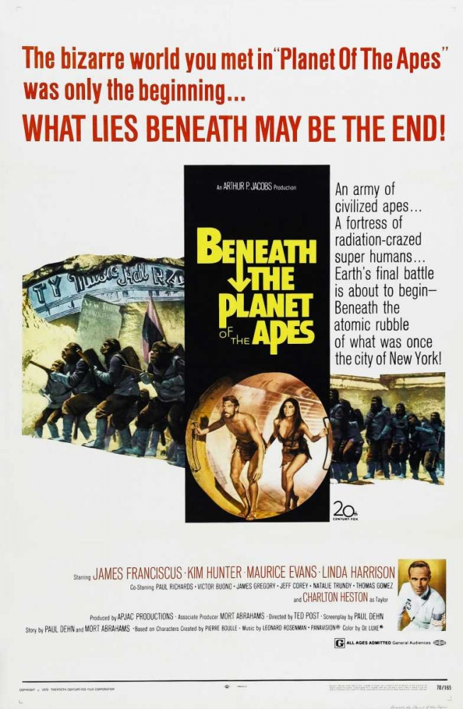 BENEATH THE PLANET OF THE APES Everett Collection 117429