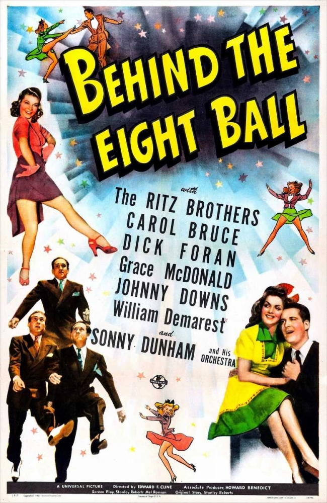 BEHIND THE EIGHT BALL Everett Collection 116690