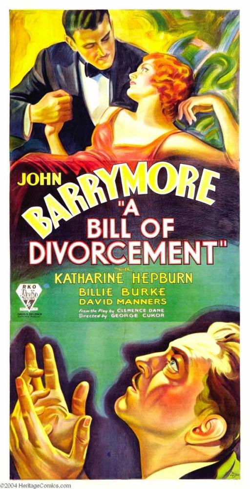 A BILL OF DIVORCEMENT Everett Collection 116208