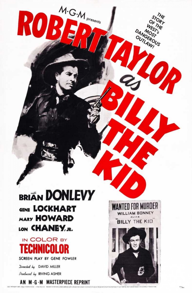 BILLY THE KID Everett Collection 116902