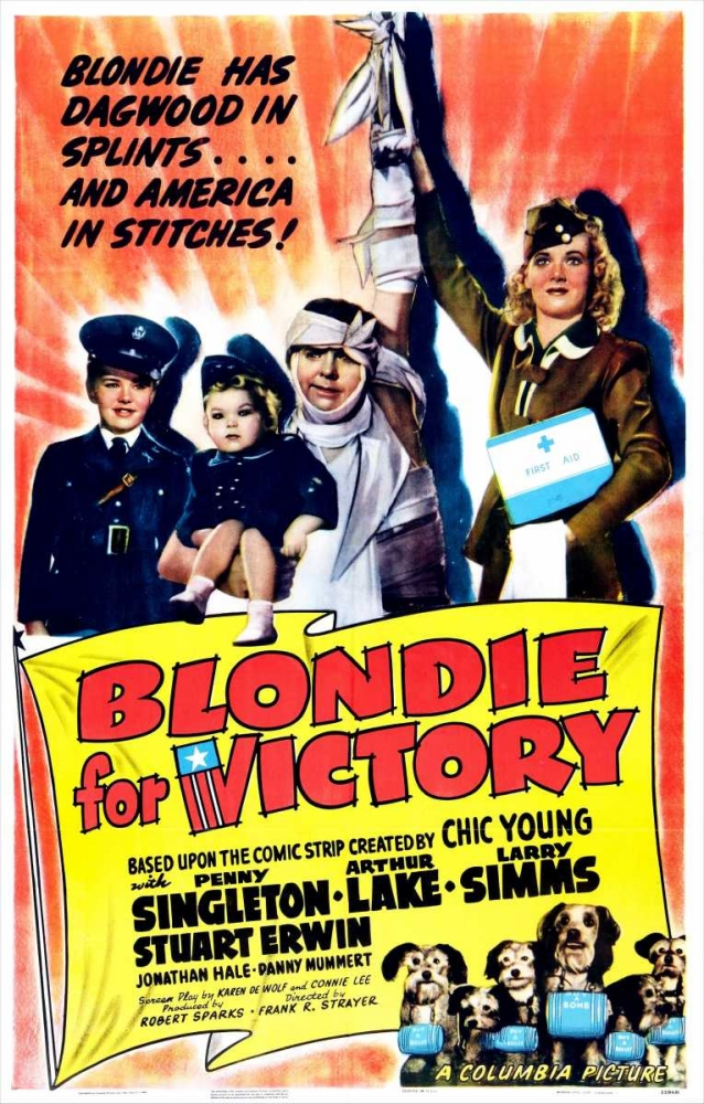 BLONDIE FOR VICTORY Everett Collection 116672