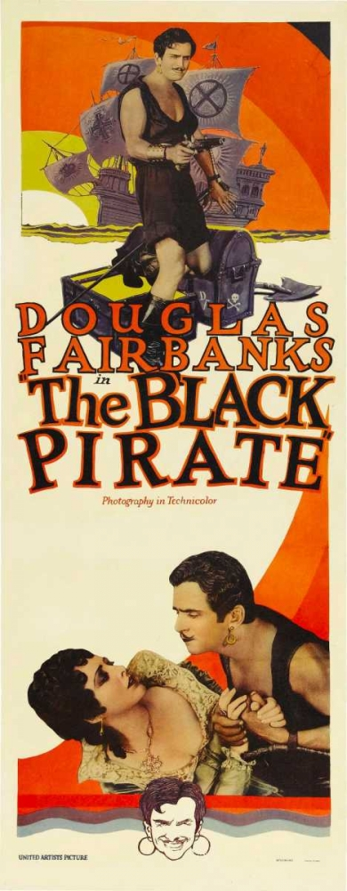 THE BLACK PIRATE Everett Collection 116033