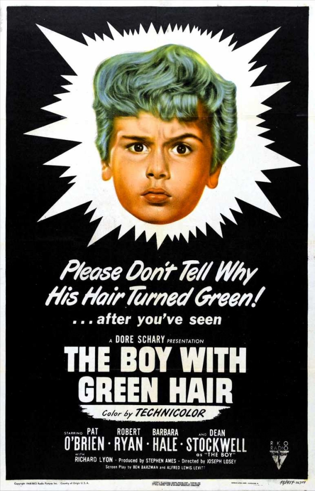 THE BOY WITH GREEN HAIR Everett Collection 116828