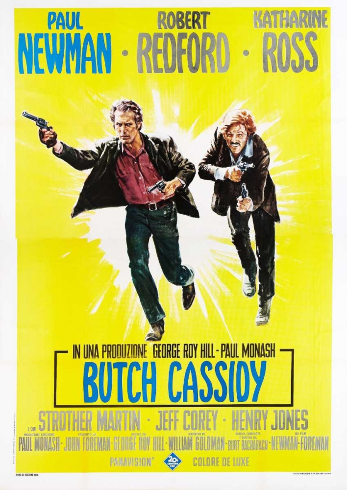 BUTCH CASSIDY AND THE SUNDANCE KID Everett Collection 117370