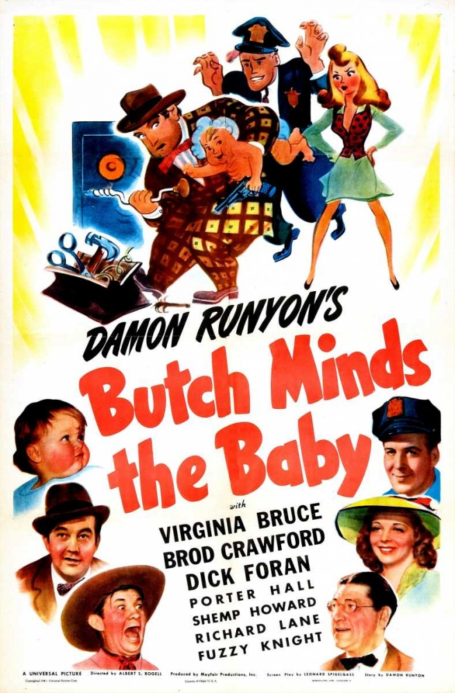 BUTCH MINDS THE BABY Everett Collection 116679