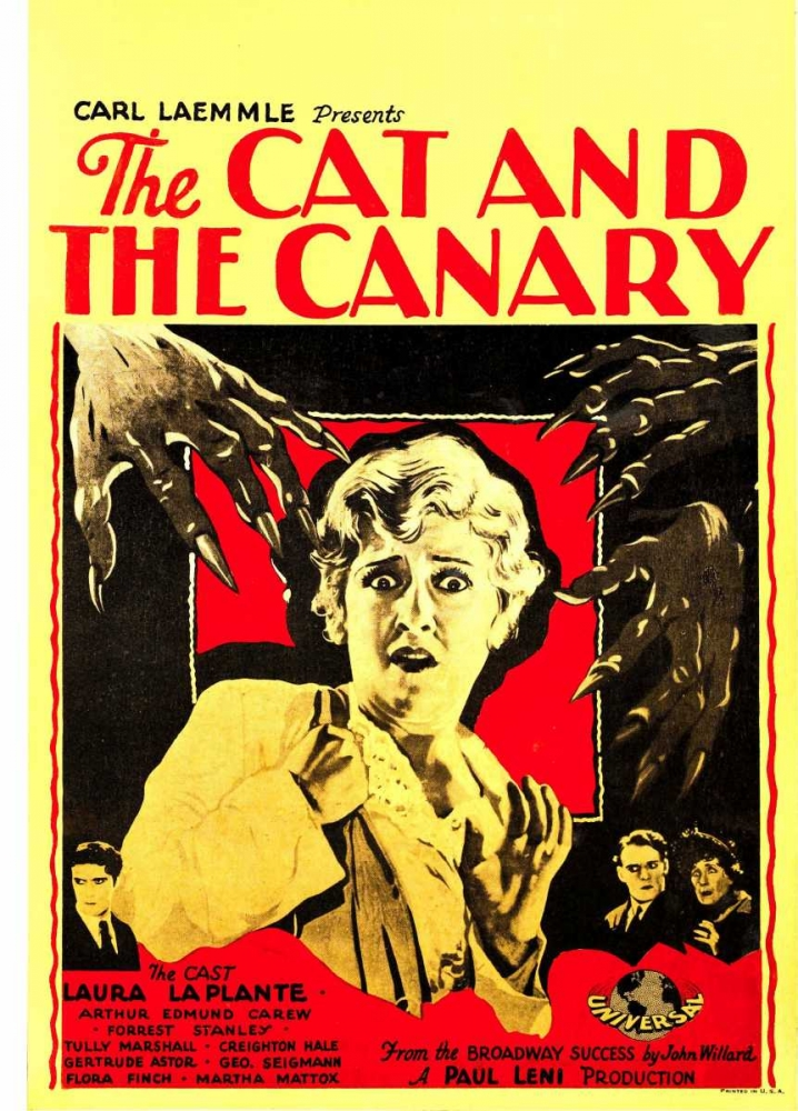 THE CAT AND THE CANARY Everett Collection 115997