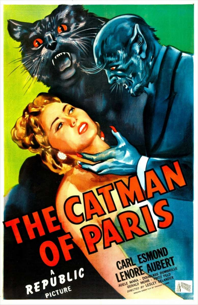 THE CATMAN OF PARIS Everett Collection 116773