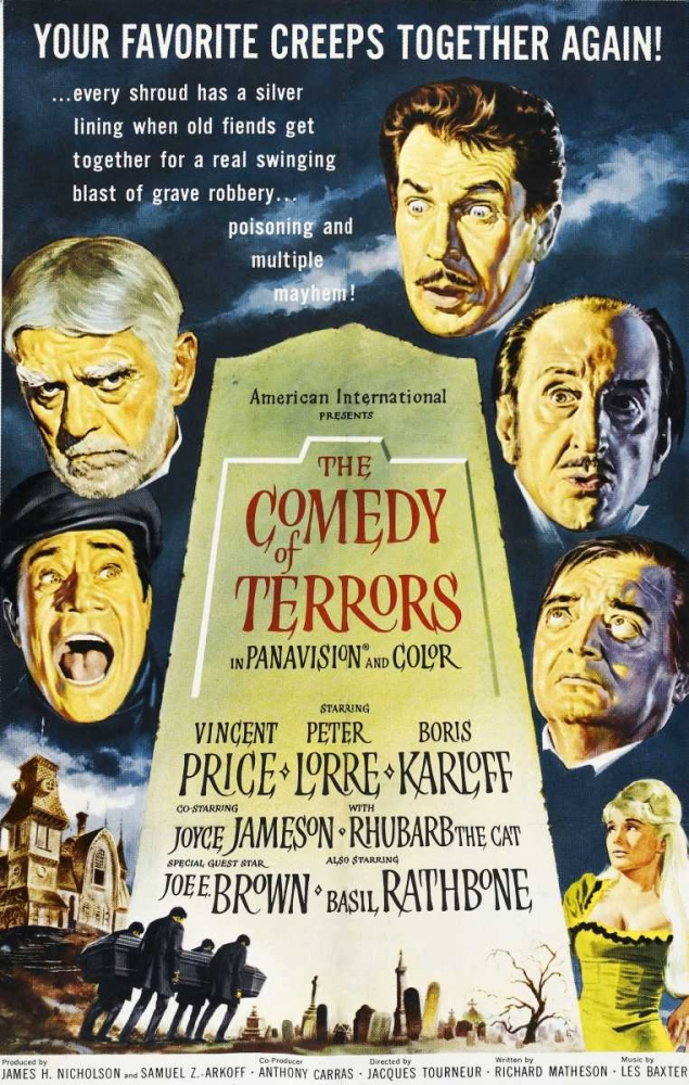 THE COMEDY OF TERRORS Everett Collection 117405