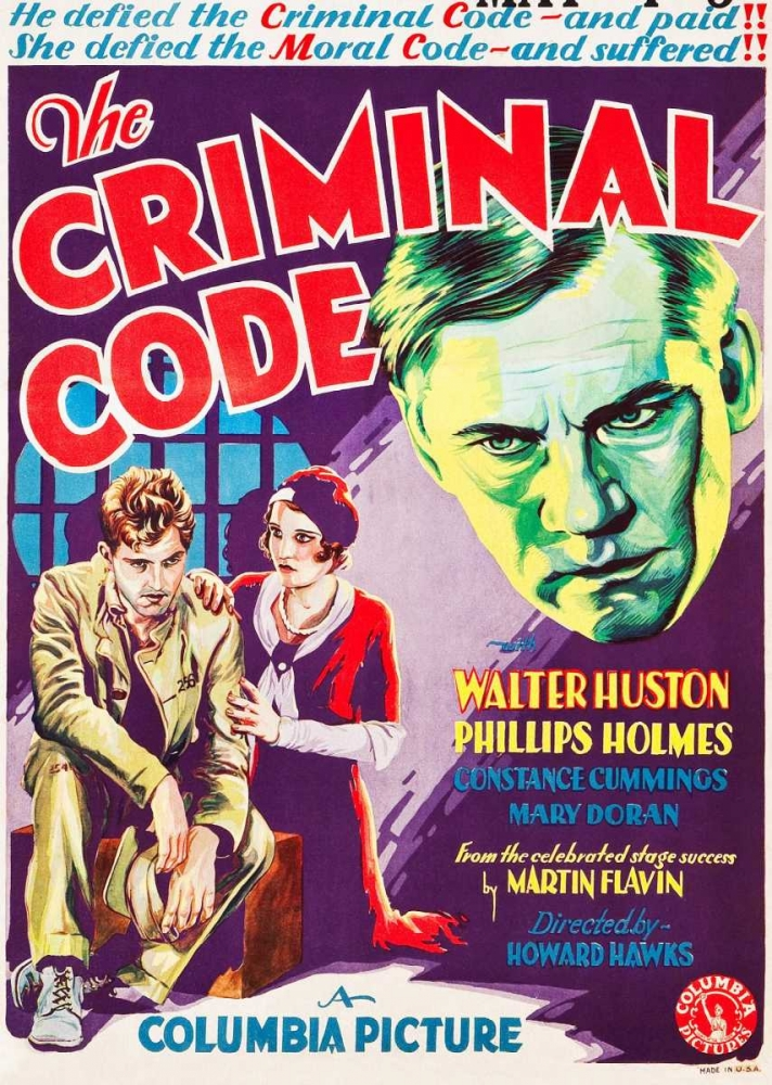 THE CRIMINAL CODE Everett Collection 116192