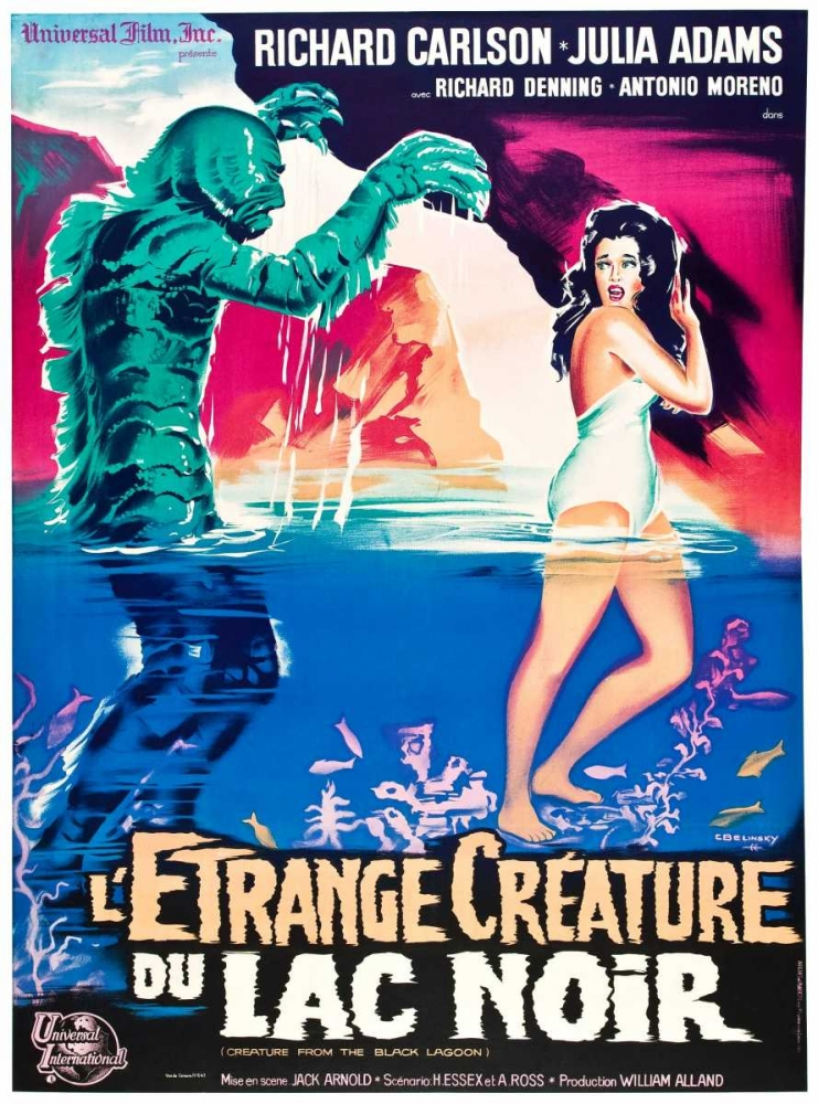 CREATURE FROM THE BLACK LAGOON Everett Collection 117075
